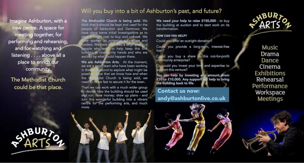 Ashburton Arts Flyer