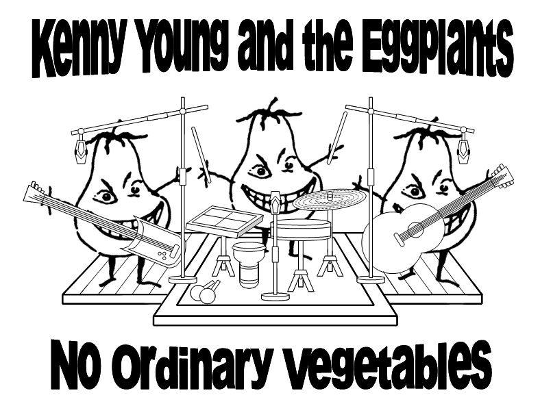 Kenny Young and the eggplants