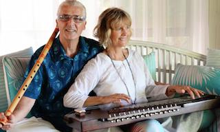 Terry Oldfield and Soraya