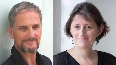 Catherine Rimer and Neil McClaren
