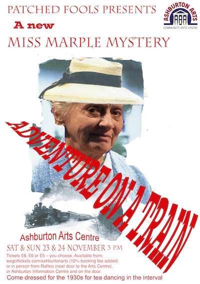 Patched Fools Miss Marple Adventure on a Train