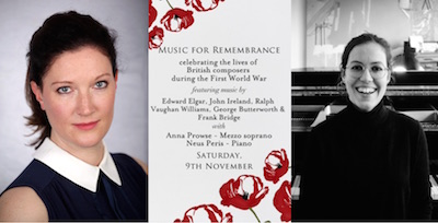 Music for Remembrance Anna Prowse and Neus Peris