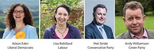 Central Devon Candidates 12 December 2019