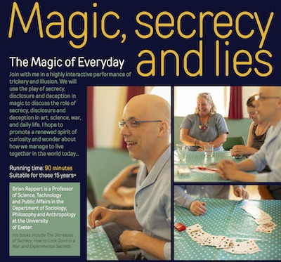 Magic Secrecy and Lies