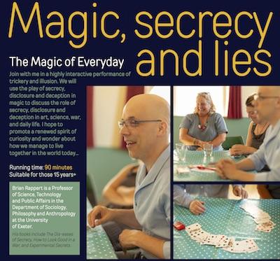 Magic Secrecy and Lies