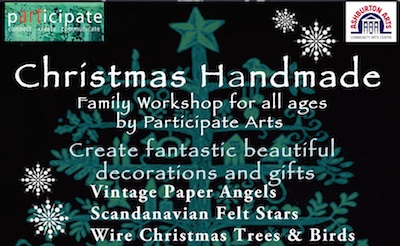 Participate Arts Family Xmas Craft Workshop