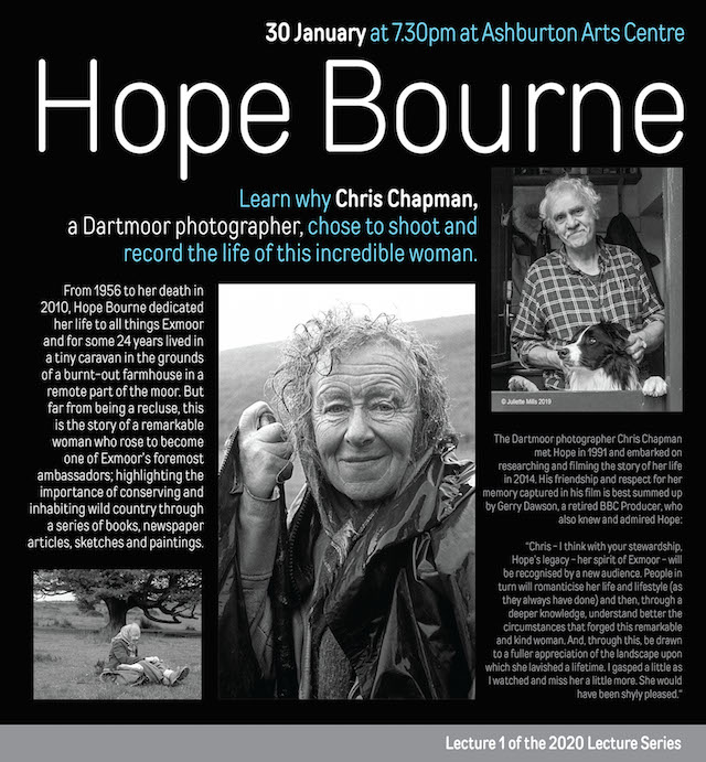 Chris Chapman talk on Hope Bourne