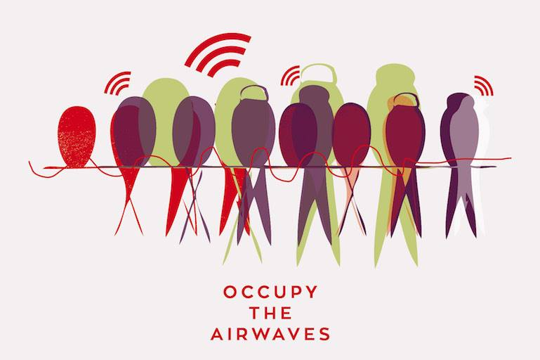occupy the airwaves
