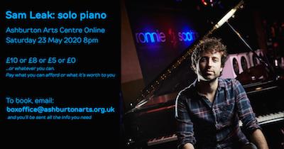 Sam Leak solo piano