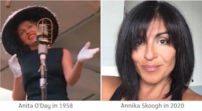 Anita O'Day and Annika Skoogh