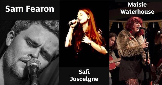 """Sam Fearon"", ""Safiya Joscelyne"", ""Maisie Waterhouse"""
