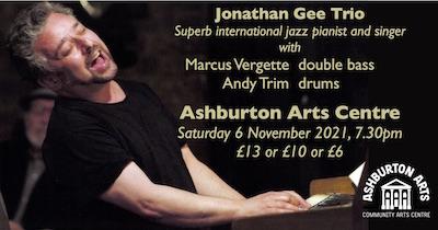 Jonathan Gee Trio