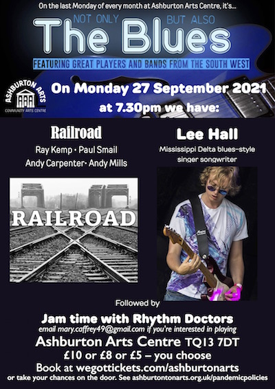 Not Only But Also The Blues: Railroad, Lee Hall, Rhythm Doctors