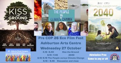 ACE Pre COP Film Fest banner